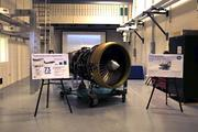 General Electric had many displays of its industrial parts during the grand opening of the $53 million, 138,000-square-foot GE EPISCENTER at the University of Dayton.