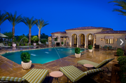 This Paradise Valley home boasts eight bedrooms and 11 bathrooms, a count that includes the detached guest house that, at about 2,000 square feet, is bigger than many single-family homes. There is also an office, three fireplaces, a maid's quarters and an exercise and sauna room.