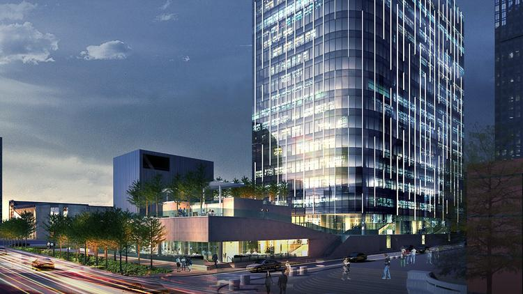 Hall Arts Hotel and Residences project in Dallas Art District