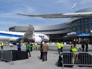 Boeing's new Everett delivery center, inaugurated earlier this year, could have fewer aircraft to deliver in coming years.