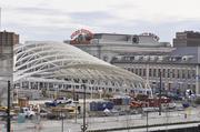 Construction at Denver Union Station.