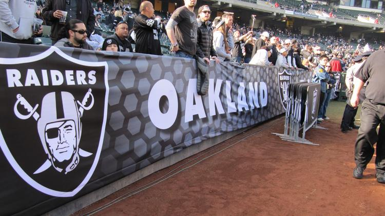 new products 86e48 6ac6e Oakland Raiders agree to Coliseum lease in 2019 with option ...