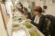 Lara Herzog, trimmer, works in the Harvest and Trim Room at Medicine Man.
