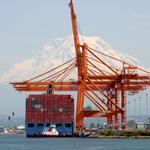 Port of Tacoma terminals were substantially busier than those at the Port of Seattle during 2015