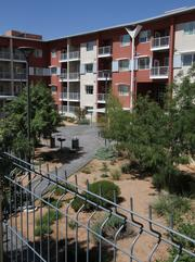 Silver Gardens, whose courtyard is pictured here, is one of the multifamily projects shaping Downtown.