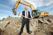 Scott Throckmorton is building a Class A speculative project at 6701 Jefferson St. NE.