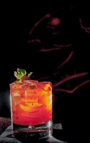 The Blind Rabbit's signature cocktail, The Druken Rabbit.