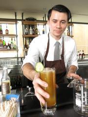 Johnny Schaefer, bar manager at Moxie Kitchen + Cocktails