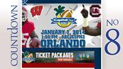 Capital One Bowl Median ticket price: $124 Matchup: South Carolina vs. Wisconsin