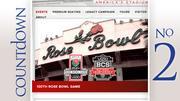 Rose Bowl Median ticket price: $550 Matchup: Michigan State vs. Stanford