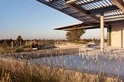 Brick LLP, a Berkeley-based architecture firm, worked with landscape architect Bionic on a 13,000-square-foot living roof at 899 West Evelyn in Downtown Mountain View.