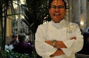 The man that keeps it all together, executive chef Jesse Llapitan.