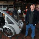 What has three pedals, solar panels and just scored $2.5M? Car-bike hybrid ELF