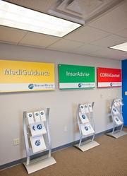 Consumerism: Bernard Health has opened retail stores to sell health care insurance.