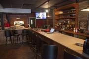 The newly renovated bar at Loop 22 is shown here.