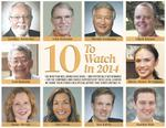 10 to Watch: Health-care, travel and education leaders top our list
