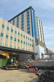 Kaiser's new hospital.