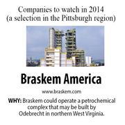 Brazilian chemical company Odebrecht announced plans in November to potentially build a huge petrochemical complex, operated by Braskem America, in Parkersburg, W.Va. If built — and it would be way into the future — then it would be another market for Marcellus Shale natural gas.