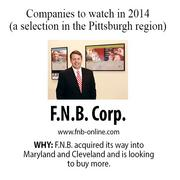 F.N.B. acquired its way into Maryland and Cleveland and is looking to buy more.