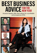 Houston business leaders' best business advice for the new year