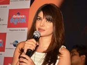 Priyanka Chopra promoting her solo album
