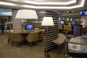 The updated Link@Sheraton business center was relocated to the main lobby.