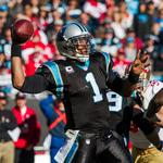 It's official: Cam Newton is staying in Carolina for a while