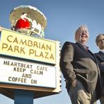 County might grant 'landmark' status to kitschy Cambrian Park Plaza merry-go-round sign