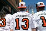 Photos: Orioles fans celebrate 2013 Opening Day in Baltimore