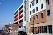 The project includes two parking garages.