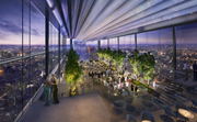 The hotel at the Comcast Innovation & Technology Center will feature a ballroom.