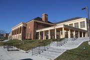 Miami University's new Armstrong Student Center has been built near the heart of its campus.
