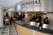 The Sundial Pizza Company is another dining option.