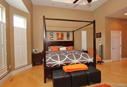 1102 Highgate Drive: One of the bedrooms.