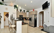 3301 Crystal Lake Drive: The kitchen has 42-inch cabinets, granite counters and a walk-in pantry.