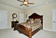 3301 Crystal Lake Drive: One of four bedrooms.