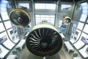 The GE90 was first produced in 1990 for the Boeing twin-powered wide body planes. They used high pressure compressor technology. The latest GE90, in 2003, produced 115,000 pounds of thrust, making it the most powerful engine in the world.