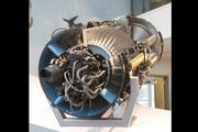 Evolved from the I-40/J33, the General Electric J35 was developed in 1944 for the U. S. Air Force. It had 4,000 pounds of thrust. It was based on the proven technology of a centrifugal compressor turbo jet. It was a first test flown in February of 1946 on a  Republic XP-84. GE lost most production of the J35 to Allison, a division of the Chevrolet Division of General Motors., allowing a significant competitor to be born.