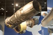 The F101 evolved from the GE9 and became GE's first after burning turbofan engine. Four F101s were first used in 1974 on Rockwell's supersonic B1.