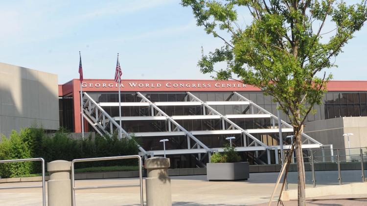 Georgia World Congress Center Authority doubles bonding capacity Atlanta Bu