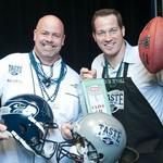 Seattle restaurateur John Howie, pop superstar Ciara liven up Seahawks flight