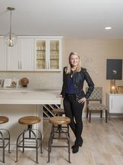 "Interior designer Amy Lutz , co-owner of Butter Lutz Interiors, will show off her own home, including an airy open kitchen. It's located at 3306 Jamesborough St. She describes her style at ""new traditional,"" using contemporary elements, clean lines and her own special flair."