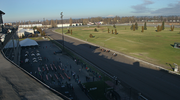 Portland meadows, a rooftop view.