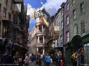 Universal describes the Harry Potter and the Escape from Gringotts ride as a multi-sensory, multi-dimensional journey that will take theme park attractions to a new level.