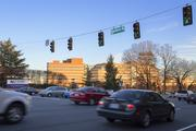 The intersection of Silas Creek Parkway and Hawthorne Road is one of four that tie for Winston-Salem's busiest intersection, with average daily traffic counts of 54,000.