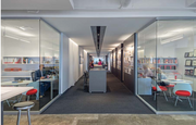 Gensler has just four enclosed offices in the 22,000-square-foot office space.