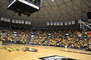 More than 4,000 fans came out to a rally to welcome the Shockers home.