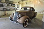 On display at the Hecht Co. Warehouse groundbreaking was a vintage Ford meant to symbolize the property's completion in 1937. The building at 1401 New York Ave. NE was expanded in 1948.
