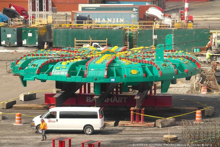 bertha tunnel boring machine