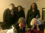 """""""Childcare Resources's staff members left their new location on West Valley Avenue today around 10:45 AM. Some of them made it home; others did not! 6 employees are running a """"satellite office"""" at a hotel less than a mile away, while others are """"breaking in"""" the new space with an office sleepover!"""""""